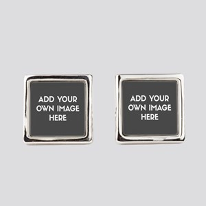 Add Your Own Image Square Cufflinks
