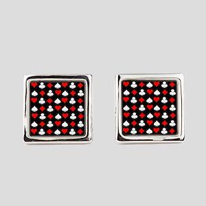 Poker Symbols Square Cufflinks