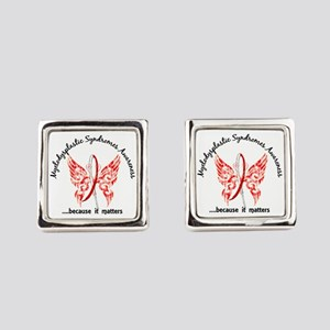 MDS Butterfly 6.1 Square Cufflinks