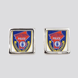 Westchester County Police Square Cufflinks