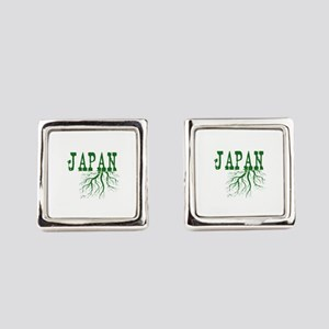 Japan Roots Square Cufflinks