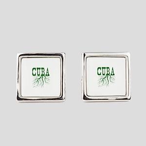 Cuba Roots Square Cufflinks