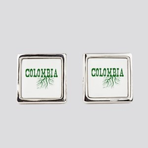 Colombia Roots Square Cufflinks