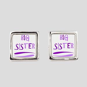 BIG SISTER Square Cufflinks