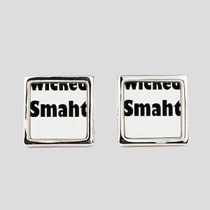 Wicked Smaht Square Cufflinks
