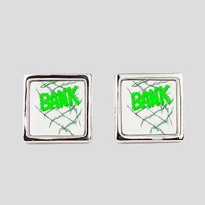 BANK Square Cufflinks