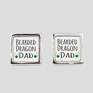 Bearded Dragon Dad Cufflinks