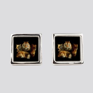 Wild Predators Square Cufflinks