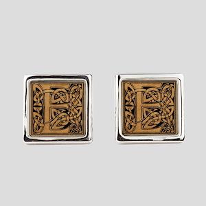 Celtic Monogram E Cufflinks