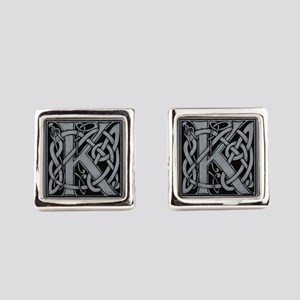 Celtic Monogram K Cufflinks