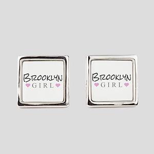 Brooklyn Girl Square Cufflinks