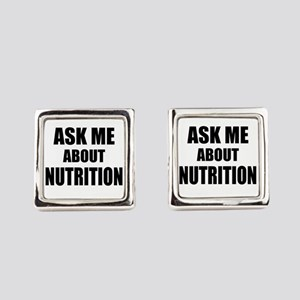 Ask me about Nutrition Square Cufflinks