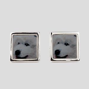 Samoyed Cufflinks