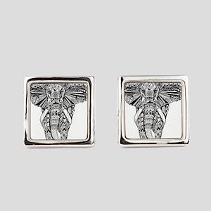 Elephant Square Cufflinks