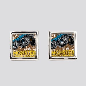 Monster Truck Maniac Square Cufflinks