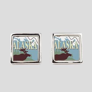 alaska Square Cufflinks