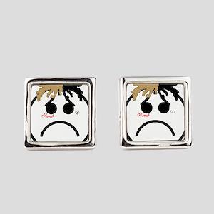 Xxxtentacion emoji Square Cufflinks