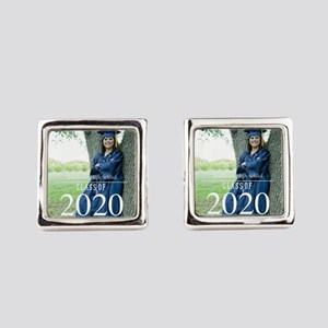 Custom Graduation Photo Class of 2017 Square Cuffl