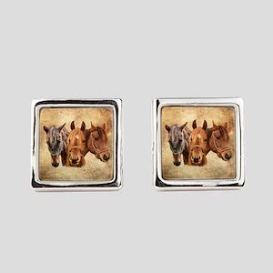 Horse Square Cufflinks