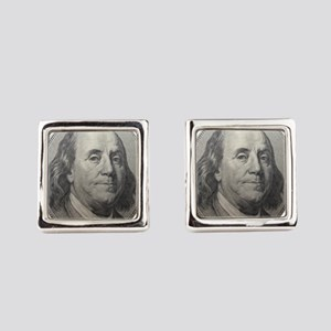 Benjamin Franklin Square Cufflinks