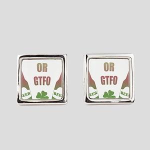 Drink or GTFO Cufflinks