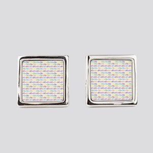 bicycles Square Cufflinks