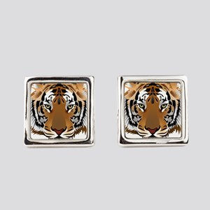 Tiger Square Cufflinks