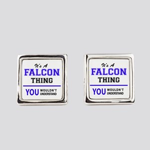 It's FALCON thing, you wouldn't u Square Cufflinks