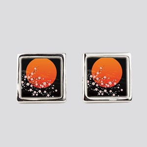 Asian Night Square Cufflinks