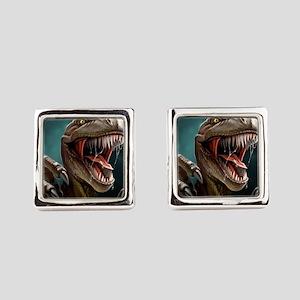 Velociraptor Square Cufflinks