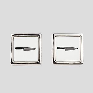 KNIFE Square Cufflinks