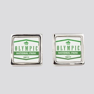Olympic National Park, Washington Square Cufflinks