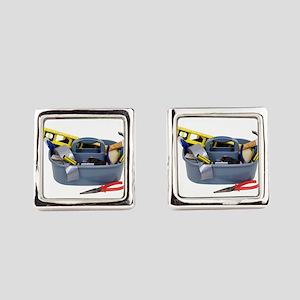ToolBox071809 Square Cufflinks