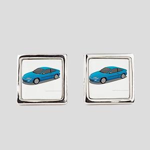 Toyota Prius car Square Cufflinks