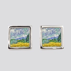 Van gogh Square Cufflinks