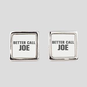 BETTER CALL JOE-Akz gray 500 Square Cufflinks
