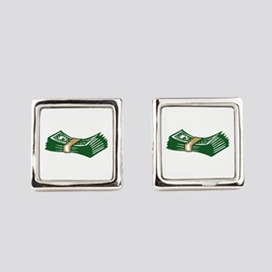 MONEY Square Cufflinks