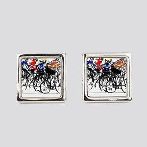Tour de France Square Cufflinks