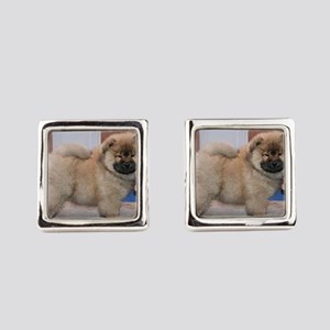 puppy chow chow Square Cufflinks