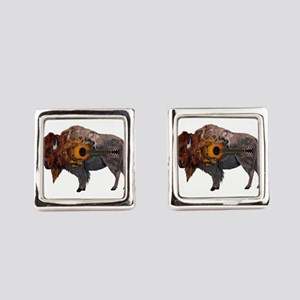 BISON TUNED Square Cufflinks