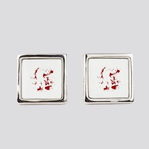 Paintball Player My Paintball Air Square Cufflinks