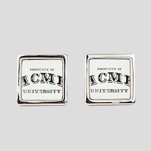 ACME University Square Cufflinks