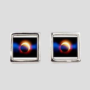 Solar Eclipse Square Cufflinks