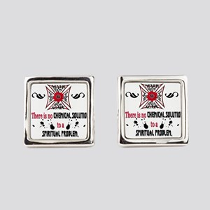 Narcotics Anonymous Square Cufflinks