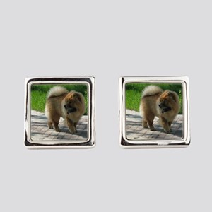 chow chow full Square Cufflinks
