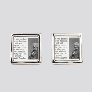 Those Who Profess To Favor Square Cufflinks