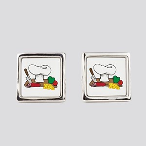 CHEFS TABLE Square Cufflinks