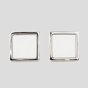 Retro 60s Midcentury Modern Square Cufflinks