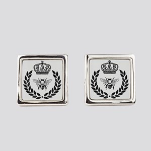 THE FRENCH BEE Square Cufflinks