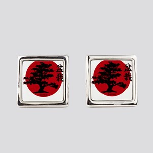 Bonsai Square Cufflinks
